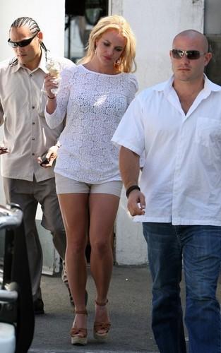 Britney out in LA