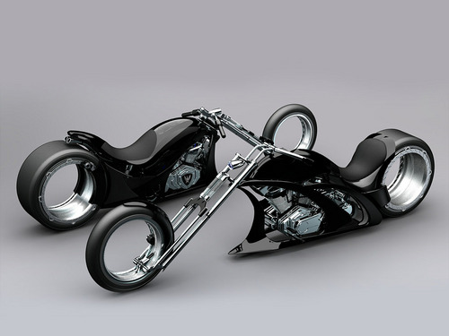 CUSTOM CHOPPER - motorcycles Wallpaper