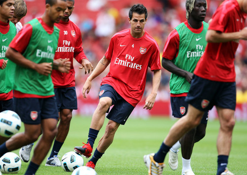 Cesc in Arsenal