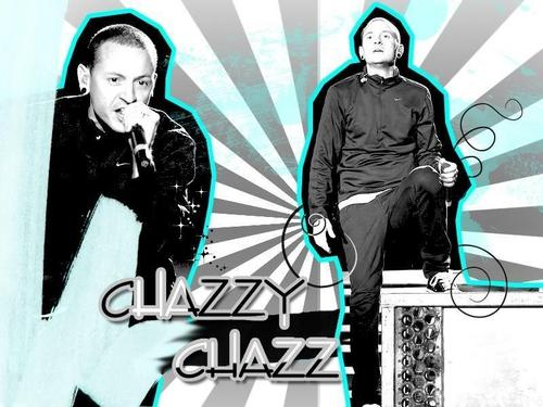Chester Bennington wallpaper probably with a sign, a hip boot, and a street entitled Chazy