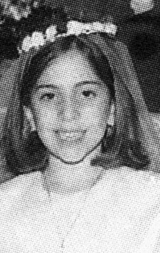 Childhood fotografias of Lady Gaga