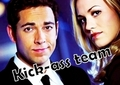 Chuck and Sarah season 4 - zachary-levi fan art