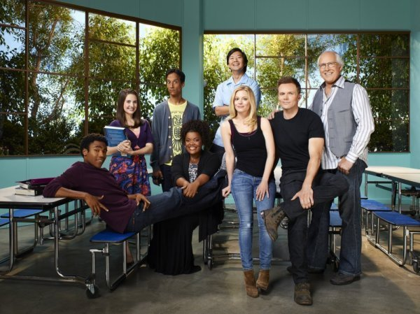 Community Season 2 Cast Promoshoot
