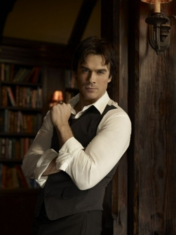 The Vampire Diaries wallpaper with a business suit entitled Damon