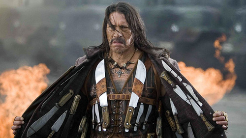 Machete wallpaper containing a surcoat entitled Danny Trejo as Machete
