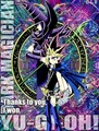 Dark Magician and Atem