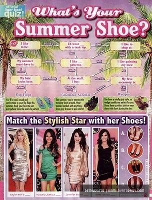 Demi Lovato - September 2010 Tiger Beat Magazine