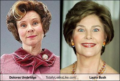 Dolores Umbridge is my ex-First Lady