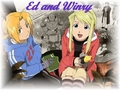 Ed and Winry - full-metal-alchemist photo