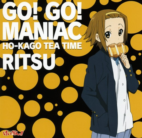 Tainaka Ritsu fond d'écran containing animé called GO! GO! Maniac Ritsu