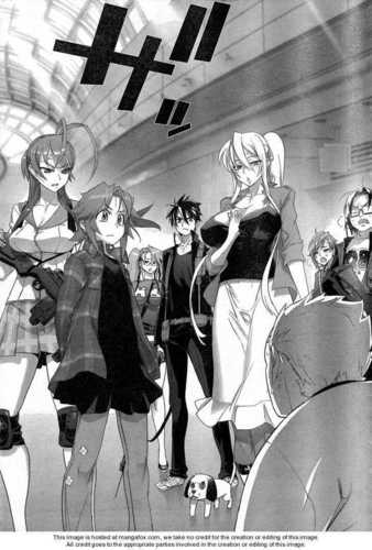 H.O.T.D manga