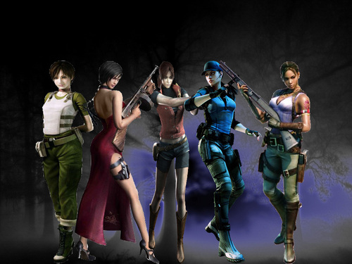 Resident Evil Hintergrund titled Heroes
