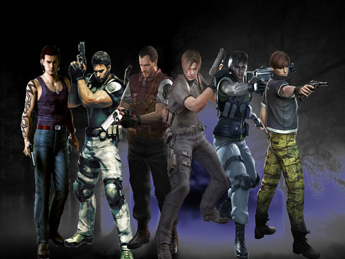 Resident Evil wallpaper probably with a green beret, a navy seal, and a rifleman entitled HEROES
