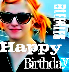 Happy Be-lated Birthday