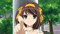 Haruhi Suzumiya - haruhi-suzumiya-character screencap