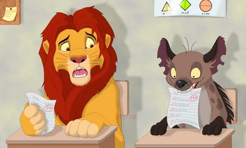 Hyenas from Lion King wallpaper probably with Anime called Hyenas are smarter than lions! :D