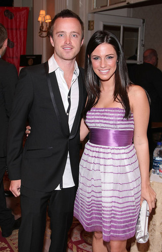 Jessica Lowndes & Aaron Paul