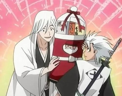 Ukitake and hitsugaya