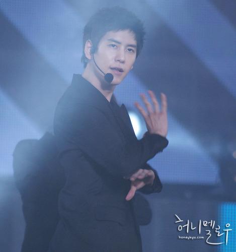 Kyuhyun at Gyeongju Hallyu Dream konsiyerto