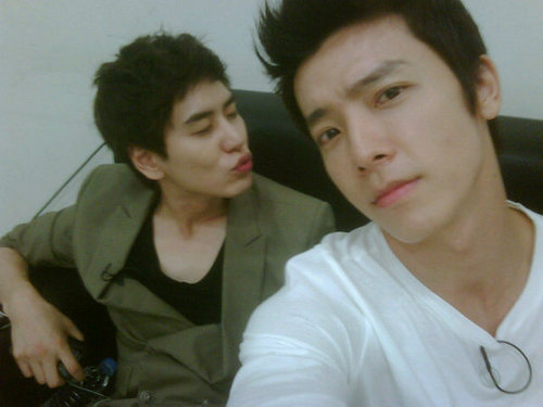Kyuhyun with Donghae