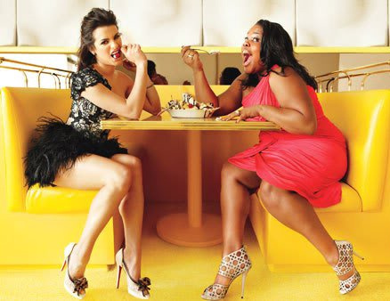 Lea and Amber