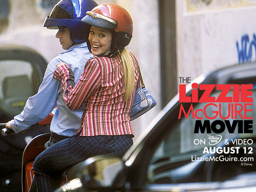 Lizzie McGuire fondo de pantalla probably with a fedora, a street, and a motorcycle cop titled Lizzie McGuire