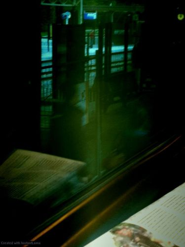 Lomo Train - lomography Photo