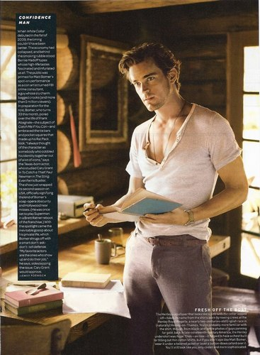 Matt Bomer wallpaper with a sign and a drafting table entitled Matt