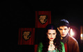 merlin-morgana - Merlin and Morgana  wallpaper
