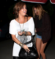 Miley out with Demi