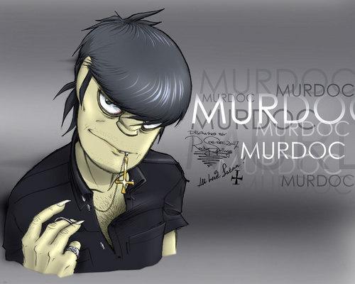 Murdoc fan-art