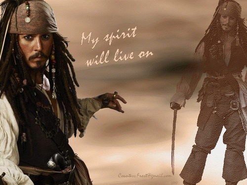 Captain Jack Sparrow images My spirit (1) HD wallpaper and background photos
