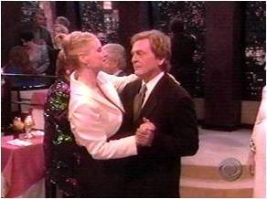 Niles and C.C. dancing