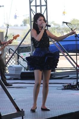 Performing in Hutchinson, Kansas