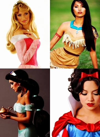 Real Princesses - disney-princess photo