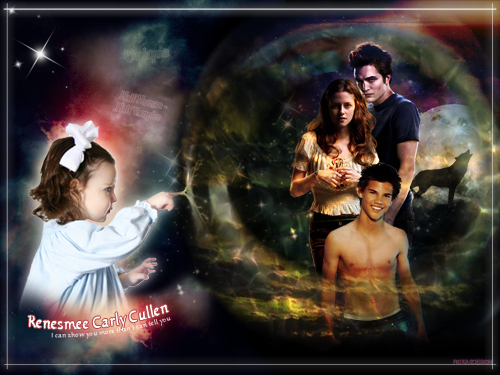 Breaking Dawn The Movie wallpaper probably with anime entitled Renesmee Cullen