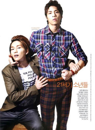 SHINee, 21st Century Boys '10 mens scans
