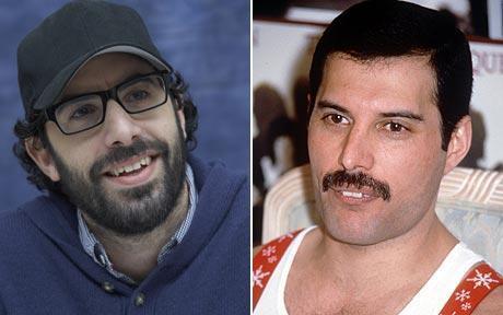 Sacha Baron Cohen/Freddie Mercury