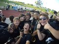 at a football game - high-school-marching-bands photo