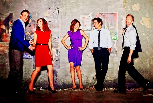 How I Met Your Mother wallpaper titled Season 6 Cast.