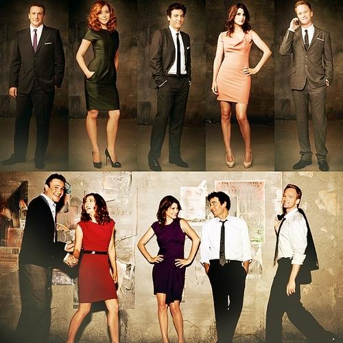 Season 6 cast.