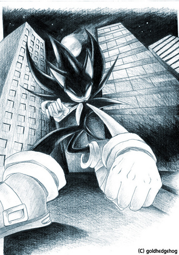 Shadow and silver and sonic