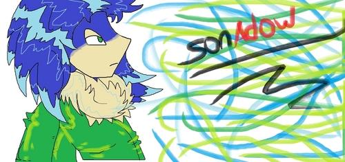 Sonic~Human form