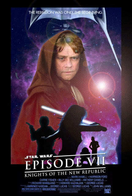 Star Wars Episode 7 Movie Poster
