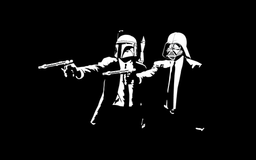 Star Wars wallpaper entitled Star Wars Pulp Fiction