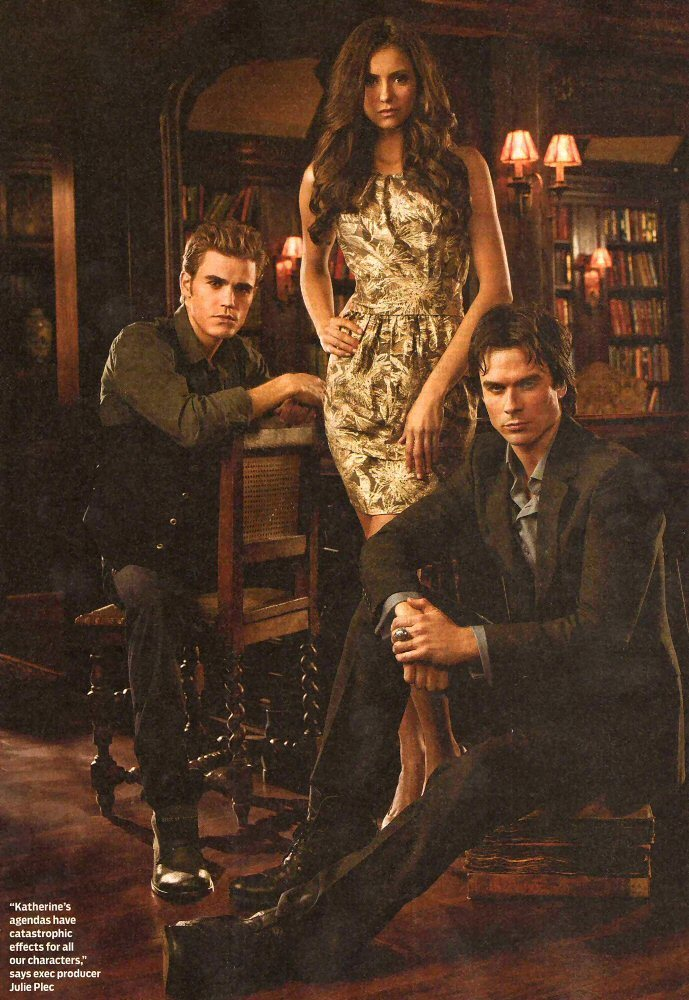 TV Guide_September, 2010 - the-vampire-diaries-tv-show photo