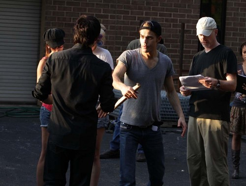 TVD_2x02_Brave New World_Behind the scenes