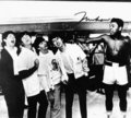 The Beatles with Muhammad Ali