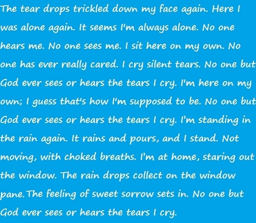 The Tears I Cry