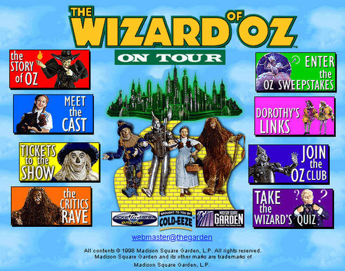 The Wizard of Oz with Fiyero the Scarecrow